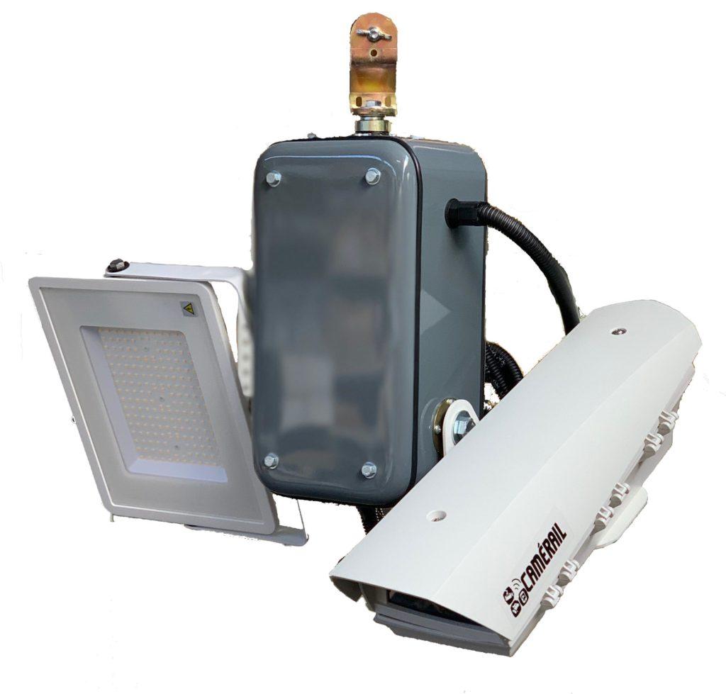 Innov Led Camerail Video Surveillance